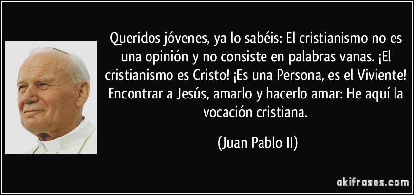 Breve Biografia de JUAN PABLO II